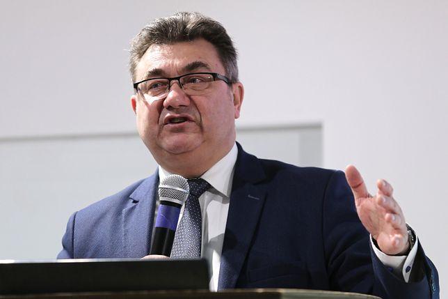 Wiceminister energii Grzegorz Tobiszowski