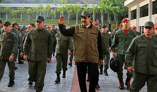 Nicolas Maduro wystąpił w otoczeniu wojska