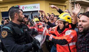 Hiszpańscy funkcjonariusze używali siły wobec Katalończyków
