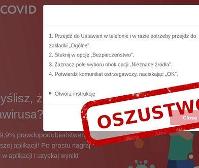 CERT Polska ostrzega: Ta aplikacja nie wykrywa koronawirusa