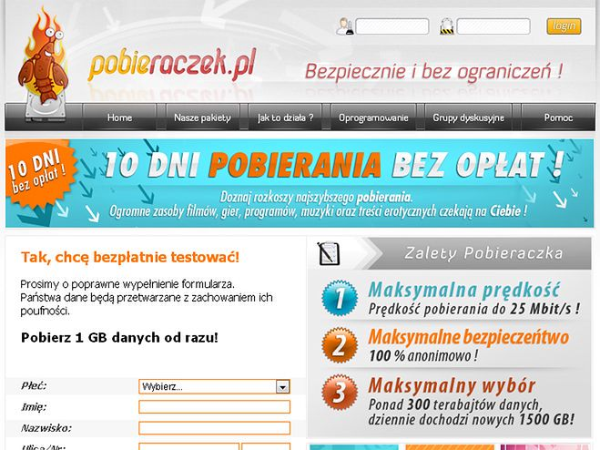 Pobieraczek.pl wprowadzał w błąd - sąd potwierdza
