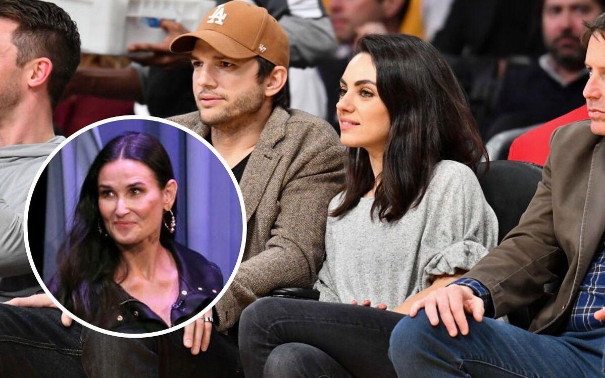 Ashton Kutcher i Mila Kunis zareagowali na oskarżenia Demi Moore. Pokazali wymowne zdjęcie