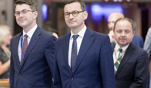 Od lewej: Piotr Mueller i Mateusz Morawiecki.
