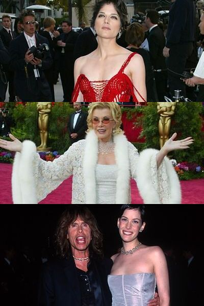 Selma Blair, Joan Rivers, Liv Tyler
