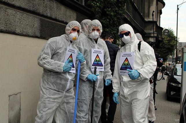 Szczecin. Dariusz Matecki i Młodzież Wszechpolska chcą dezynfekować ulice. Poszło o LGBT