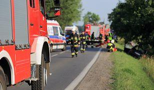 Tragedia pod Opolem. Mężczyzna zginął na oczach rodziny