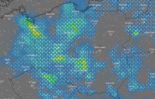 Pogoda. Burze z gradem w niemal całej Polsce. IMGW wydaje ostrzeżenia dla 12 województw