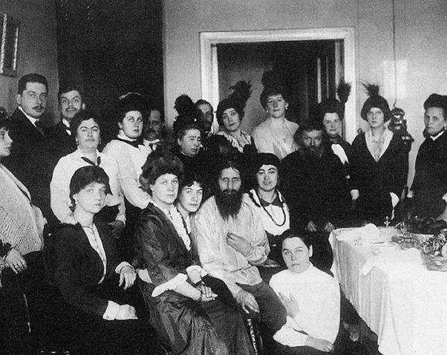 Rasputin i jego wyznawcy (1914 r.)