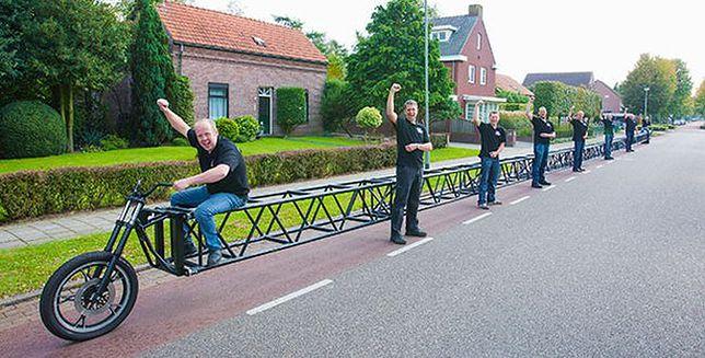 Najdłuższy rower świata wpisany do Księgi Rekordów Guinnessa