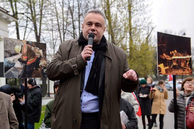 """Tomasz Sakiewicz, redaktor naczelny """"Gazety Polskiej"""""""