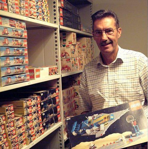 Jens Nygaard Knudsen przez lata był głównym projektantem LEGO