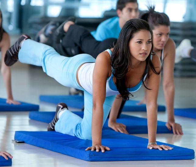 Aerobik to idealna forma aktywności fizycznej dla osób odchudzających się.