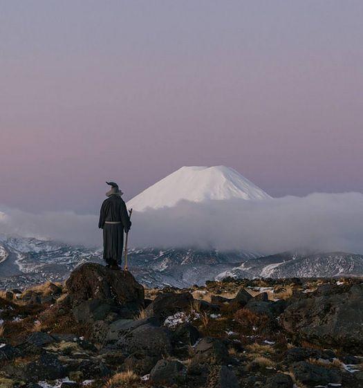 """""""Władca pierścieni"""": Gandalf oprowadza po Nowej Zelandii"""