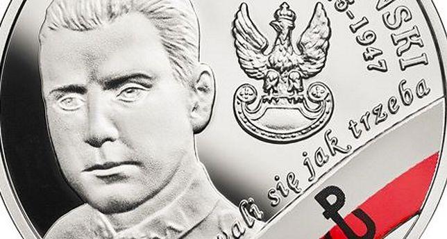 Nową monetę wyróżniają kolory polskiej flagi