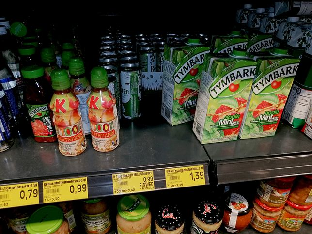 Polskie produkty znalazłem w sklepie jednej z największych sieci handlowych w Niemczech