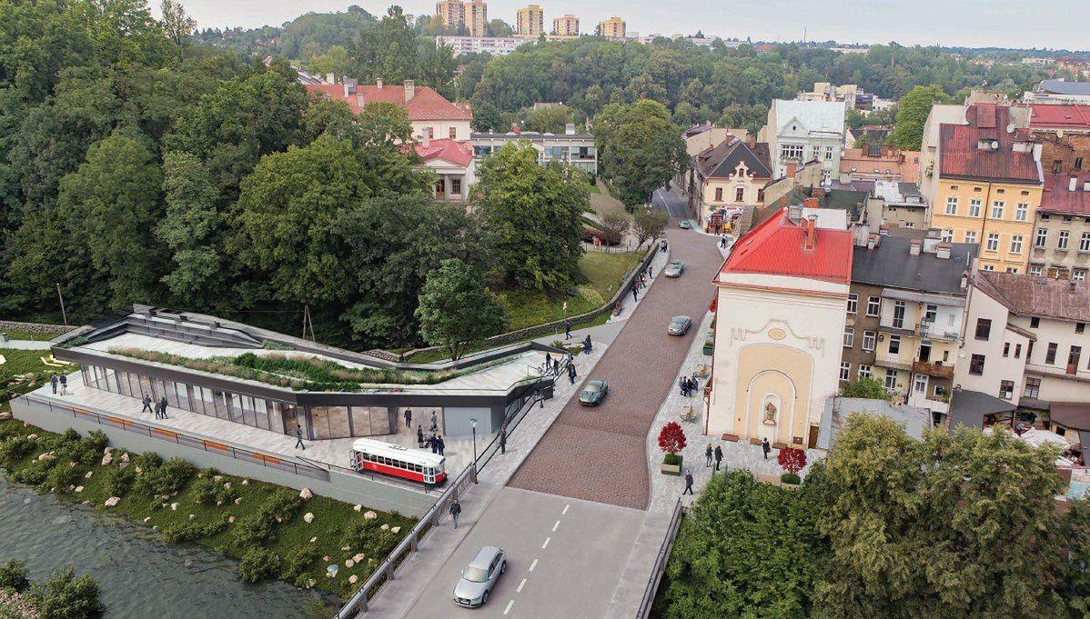 Śląskie. W miejsce dawnej strażnicy w Cieszynie powstanie budynek transgranicznego centrum informacji turystycznej.
