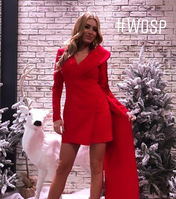 Marcelina Zawadzka to jedna z gwiazd TVP, która otwarcie wspiera WOŚP