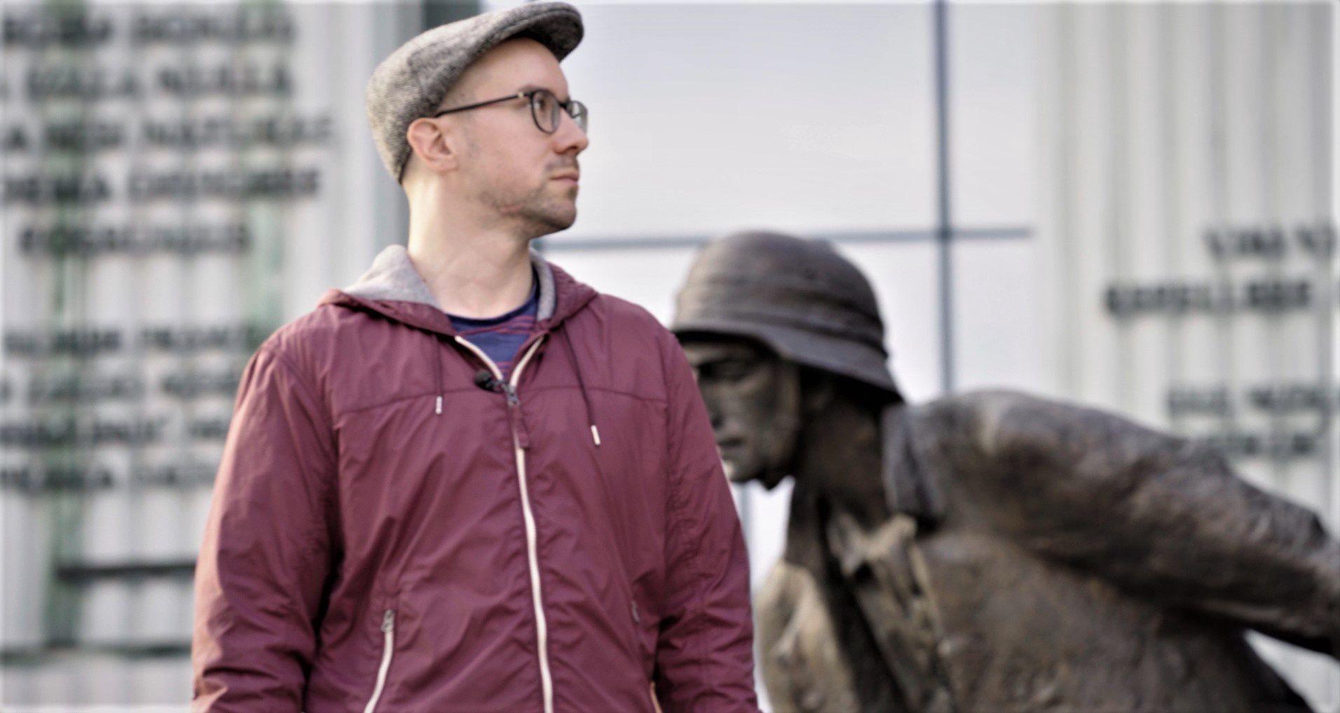 Leo Mausbach jest współinicjatorem budowy w Berlinie pomnika polskich ofiar niemieckiego nazizmu