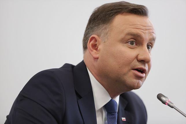Prezydent Andrzej Duda wycofał rekomendację dla kontrowersyjnego tekstu