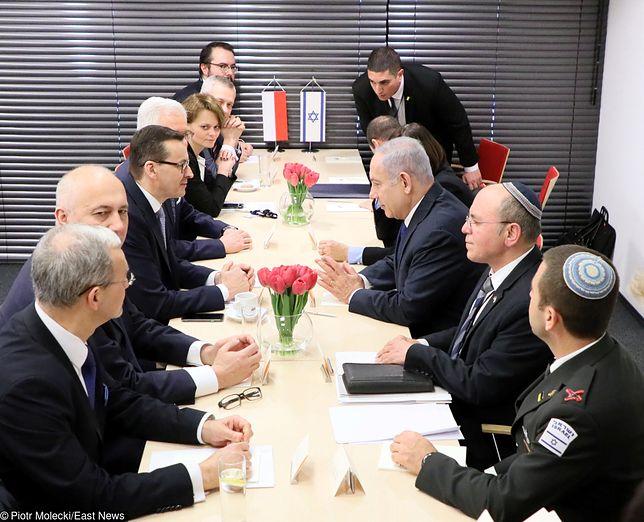 Spotkanie ministerialne poświęcone budowaniu pokoju i bezpieczeństwa na Bliskim Wschodzie.