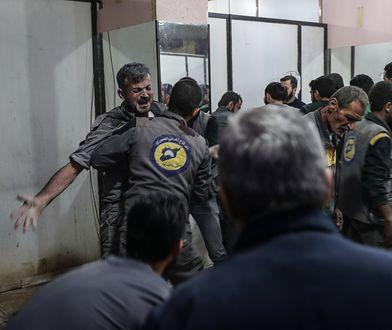 Atak na cywilów w Syrii. Użyto gazu chlorowego