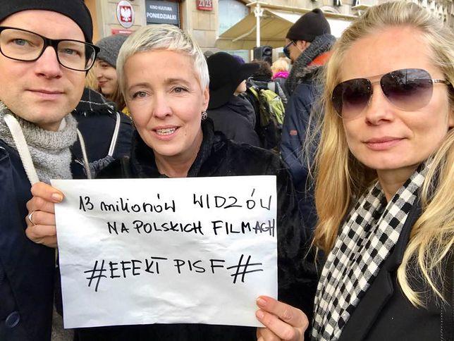 Filmowcy w obronie Polskiego Instytutu Sztuki Filmowej