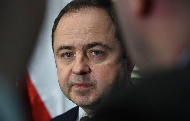 Wiceminister spraw zagranicznych Konrad Szymański