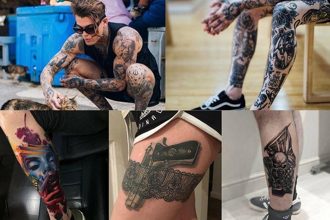 Tatuaże na nogi to coś zarówno dla kobiet, jak i dla mężczyzn