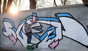 Służewiec. Wielki powrót street artu na kultowym murze [GALERIA]