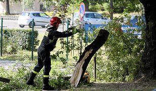 Nawałnice nad Polską. Krotoszyn sparaliżowany po burzy