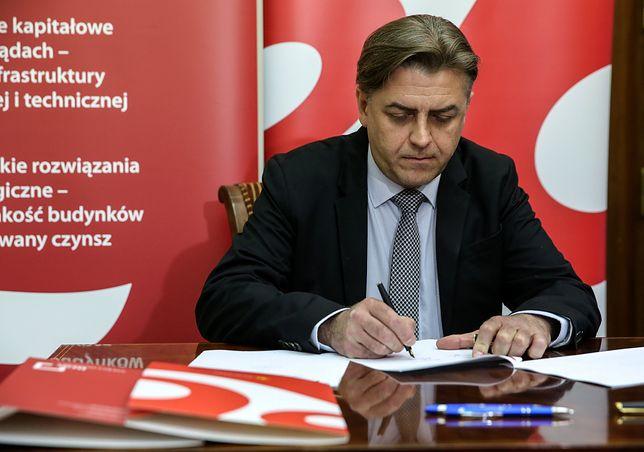 Na zdjęciu Mirosław Barszcz, prezes BGK Nieruchomości