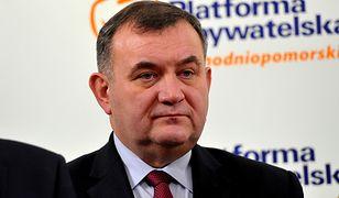 Przewodniczący zachodniopomorskiej PO Stanisław Gawłowski