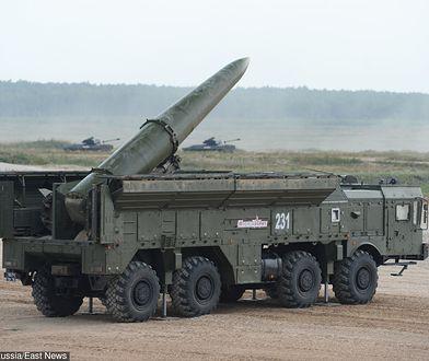 Rosyjska wyrzutnia rakiet Iskander