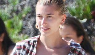 Hailey Bieber spędziła dzień na plaży
