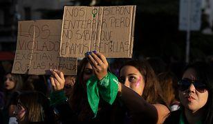 8 marca kobiety protestowały w Buenos Aires - m.in. po tym, jak zmuszono 11-latkę do porodu