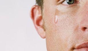 Kiedy facet płacze