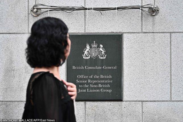 Hongkong. Zaginął pracownik brytyjskiego konsulatu
