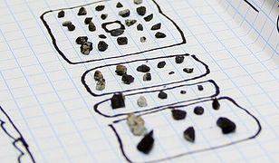 Fragmenty meteorytu, który spadł w Rosji