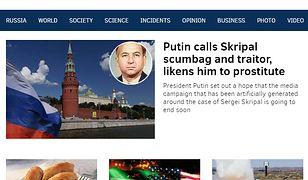 Pravda.ru to prorosyjski portal traktujący o relacjach Rosji na arenie międzynarodowej