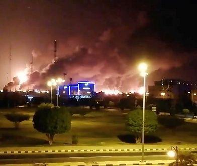 Atak na rafinerie w Arabii Saudyjskiej