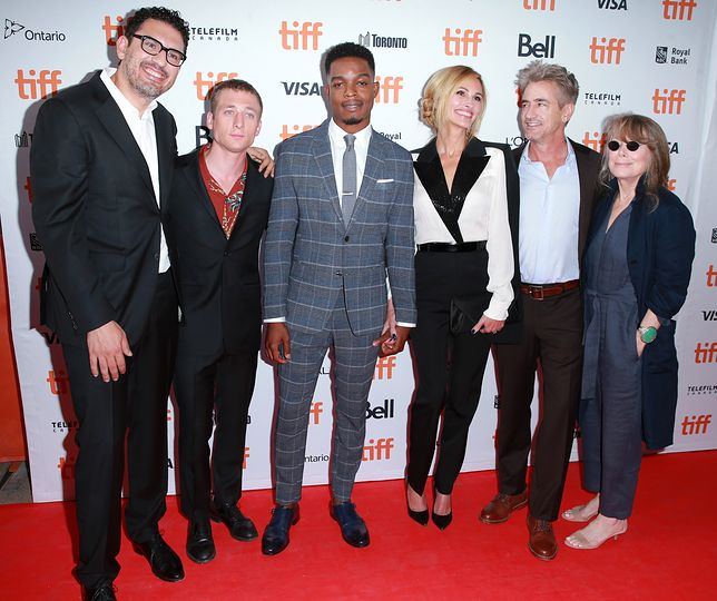 """attends the """"Homecoming"""" premiere during 2018 Toronto International Film Festival at Ryerson Theatre on September 7, 2018 in Toronto, Canada."""
