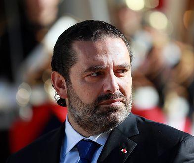 Saad Hariri w Paryżu