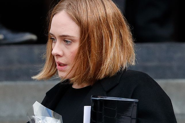 Adele tak wyglądała rok temu