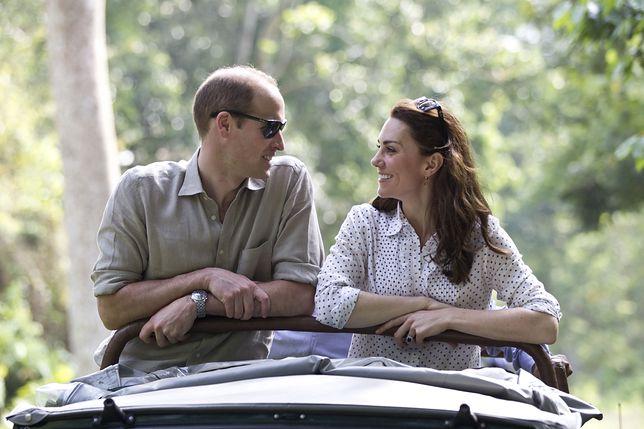 Książę William i Kate Middleton obserwowali działalność organizacji charytatywnych