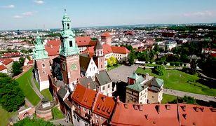 Piękny widok na stolicę Małopolski - Kraków.
