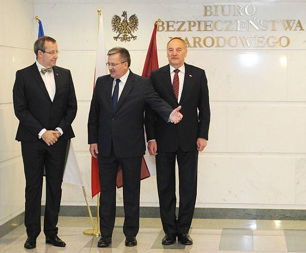Bronisław Komorowski: podpisałem decyzję o uczestnictwie Polski w Baltic Air Policing