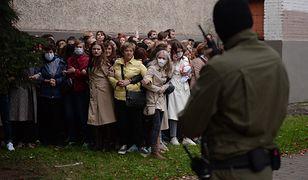 """Białoruś. Kobiety są siłą protestów? """"Chcą odzyskać swoje prawa"""""""