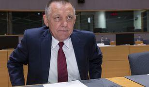 Marian Banaś po wybuchu afery zdecydował się pójść na bezpłatny urlop
