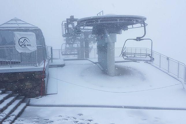 """Śnieg na Kasprowym, internauci: """"Za wcześnie!"""". Klimatolog wyjaśnia"""