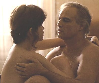 """Maria Schneider i Marlon Brando w """"Ostatnim tangu w Paryżu"""""""